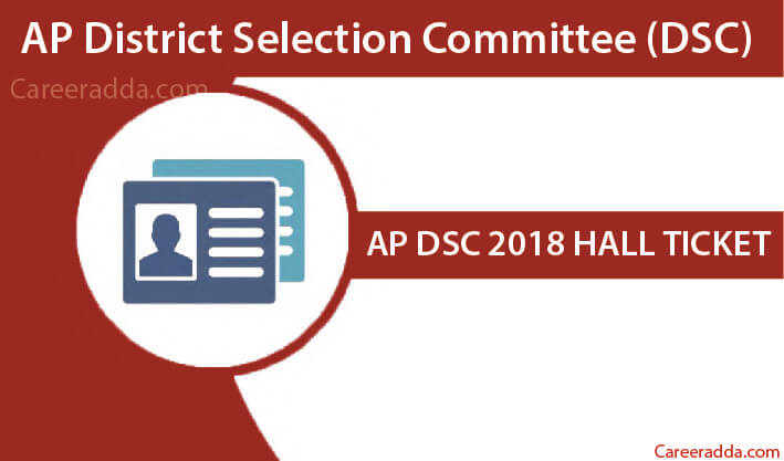 AP DSC 2018 Hall Ticket