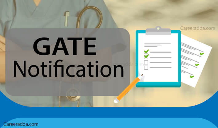 GATE Notification