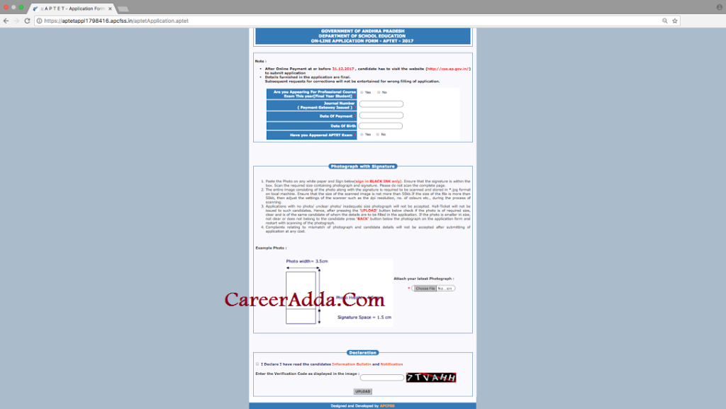 aptet 2017-18 Application