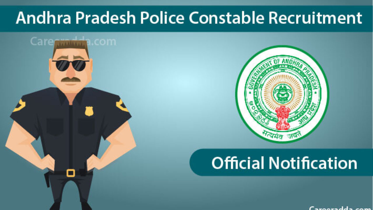 AP Police Constable 2018 Notification - Answer Key Released