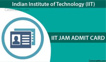 IIT JAM 2018 Admit Card