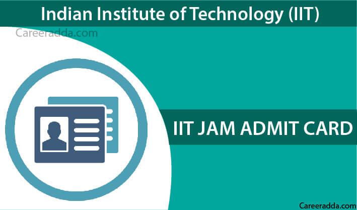 IIT JAM Admit Card