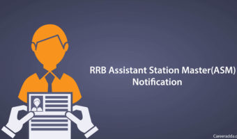 RRB ASM Recruitment 2018 Notification, Apply Online, Syllabus