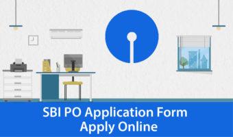SBI PO 2018 Apply Online –  SBI PO Application Form 2018