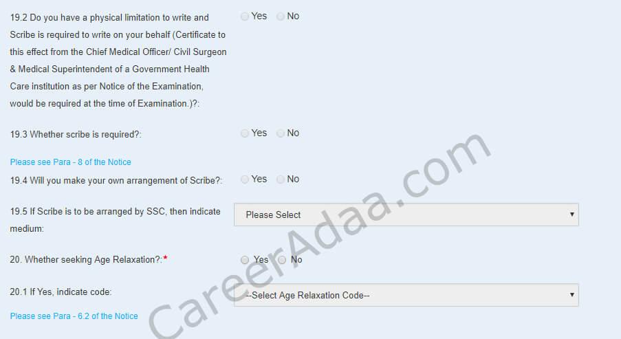 SSC CHSL Online Registration