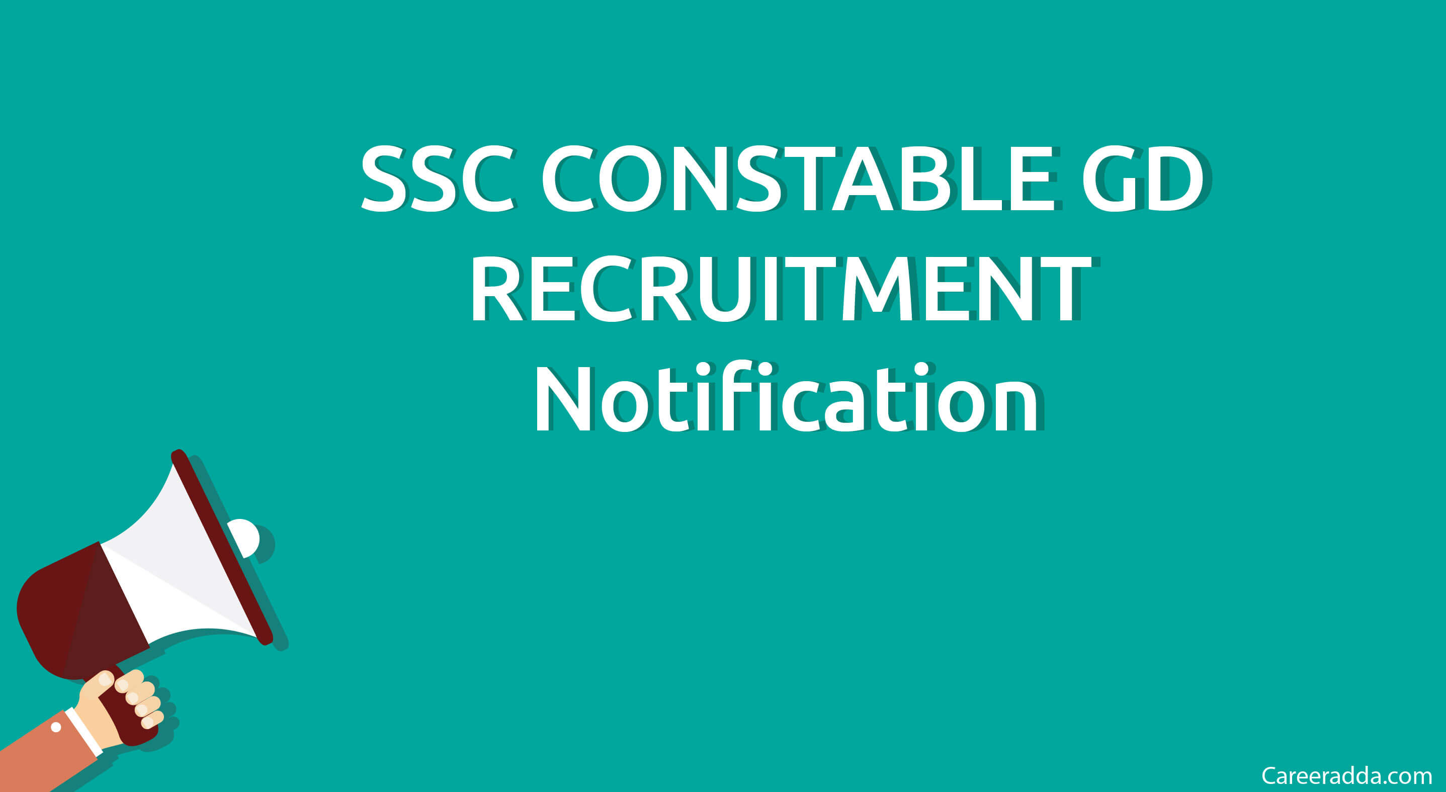 SSC Constable GD Recruitment