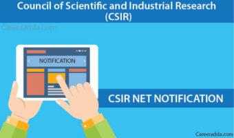 CSIR NET Exam 2018 Notification, Application Form &Apply Online