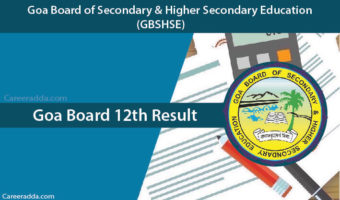 Goa Board 12th Results 2018
