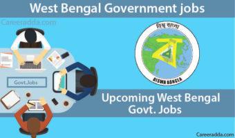Government jobs in West Bengal 2018 – Govt Jobs In West Bengal