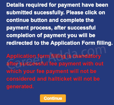 APPSC Group 2 Fee Payment