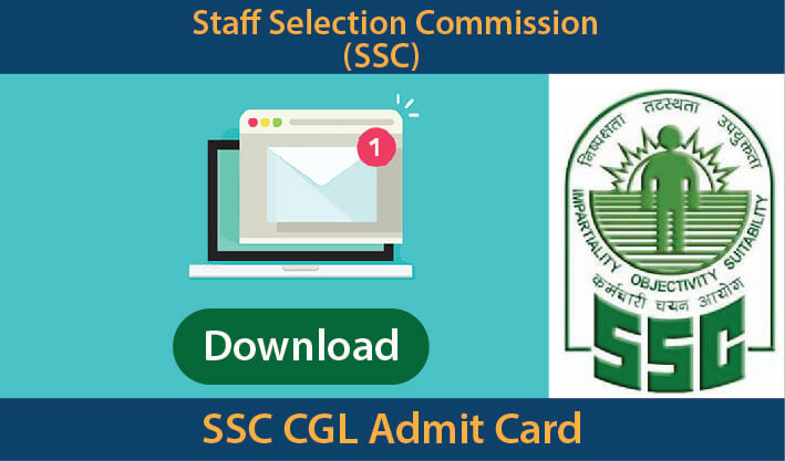 SSC CGL Admit Card Download