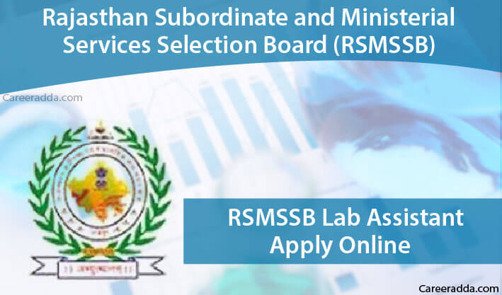 RSMSSB Lab Assistant Apply Online