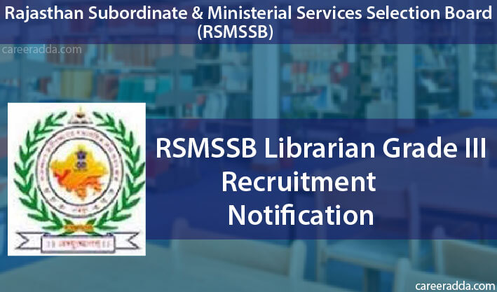 RSMSSB Librarian Grade III Recruitment