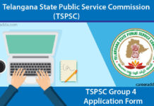 TSPSC Group 4 Apply Online