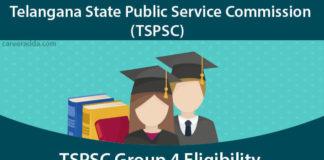 TSPSC Group 4 Eligibility Criteria