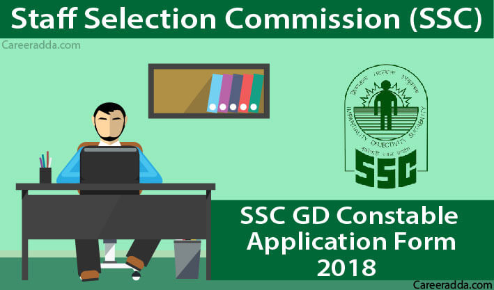 SSC GD Constable 2018 Application Form