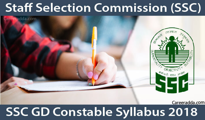 SSC GD Constable 2018 Syllabus