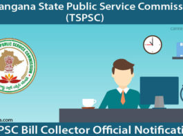 TSPSC Bill Collector Recruitment