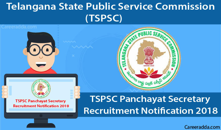 TSPSC Panchayat Secretary 2018 Recruitment