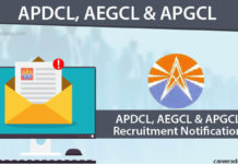 APDCL, AEGCL & APGCL Recruitment