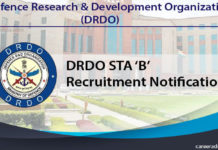 DRDO STA Recruitment
