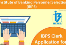 IBPS Clerk Apply Online