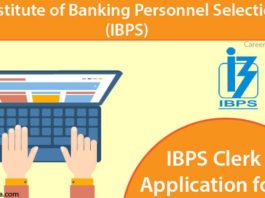 IBPS Clerk Apply Online
