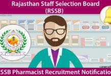 RSSB Pharmacist Recruitment