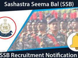 SSB Recruitment