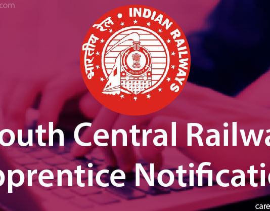 South Central Railway Apprentices