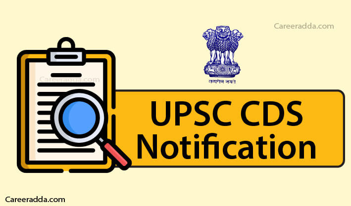 UPSC CDS Notification