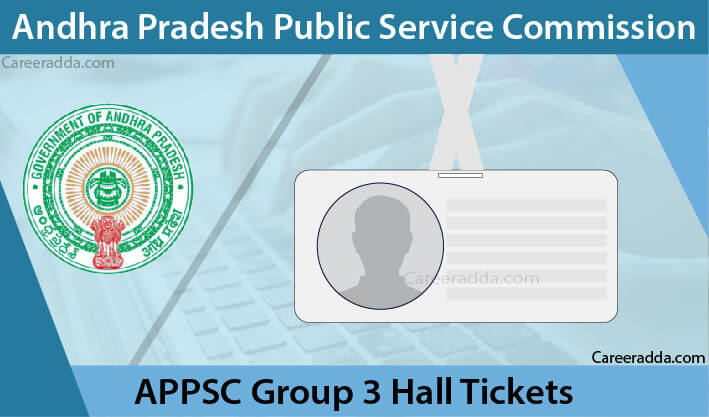 APPSC Group 3 Hall Tickets