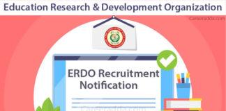 ERDO Recruitment Notification