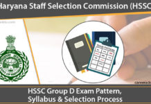HSSC Group D Syllabus