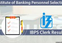 IBPS Clerk Results