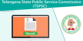 TSPSC VRO Result