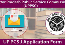 UP PCS J Application Form