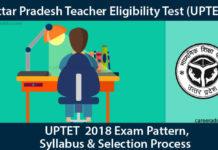 UPTET 2018 Syllabus