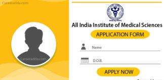 AIIMS Nursing Officer Application Form