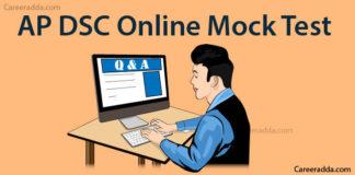 AP DSC GK & Current Affairs Mock Tests