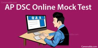 AP DSC GK & Current Affairs Online Mock Tests