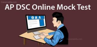 AP DSC Social Online Mock Tests