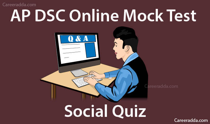 AP DSC Social Online Mock Tests