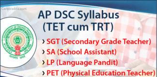 AP DSC Syllabus