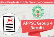 APPSC Group 4 Results