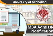 Allahabad University MBA Admission