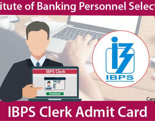 IBPS Clerk Admit Card