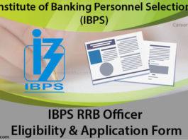 IBPS RRB Officer application form