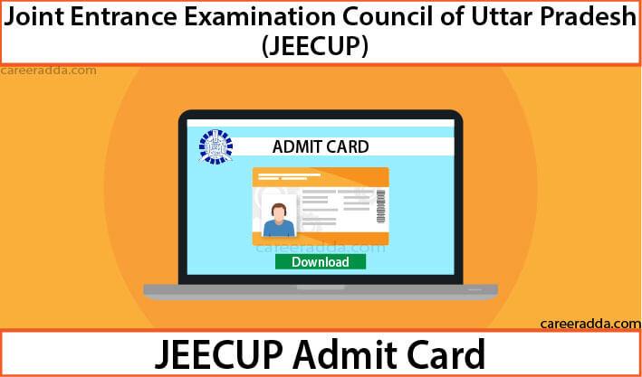 JEECUP Admit Card