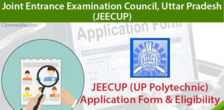 JEECUP Apply Online